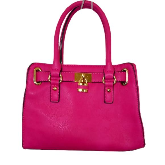 Charming Charlie Pink Hand Bag